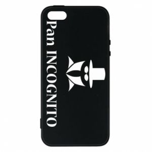 Phone case for iPhone 5/5S/SE Mr INCOGNITO