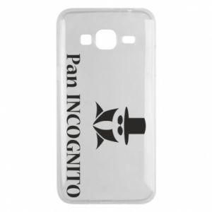 Phone case for Samsung J3 2016 Mr INCOGNITO