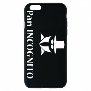 Phone case for iPhone 6/6S Mr INCOGNITO