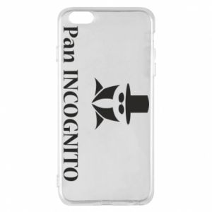 Phone case for iPhone 6 Plus/6S Plus Mr INCOGNITO