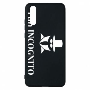 Phone case for Huawei P20 Mr INCOGNITO
