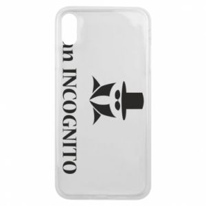 Phone case for iPhone Xs Max Mr INCOGNITO