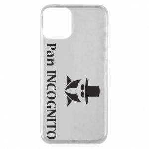 Phone case for iPhone 11 Mr INCOGNITO