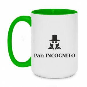 Two-toned mug 450ml Mr INCOGNITO