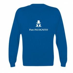 Kid's sweatshirt Mr INCOGNITO