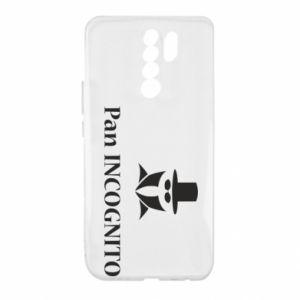 Xiaomi Redmi 9 Case Mr INCOGNITO