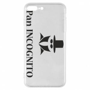 Phone case for iPhone 8 Plus Mr INCOGNITO