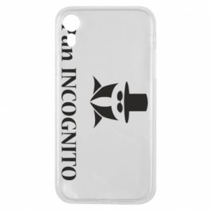Phone case for iPhone XR Mr INCOGNITO