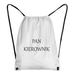 Plecak-worek Pan kierownik