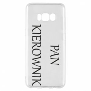 Etui na Samsung S8 Pan kierownik