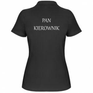 Damska koszulka polo Pan kierownik