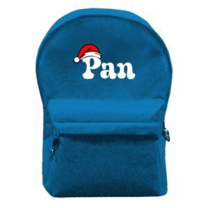 Plecak z przednią kieszenią Pan