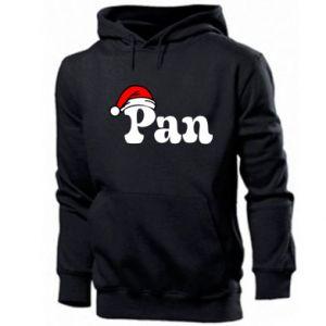 Męska bluza z kapturem Pan