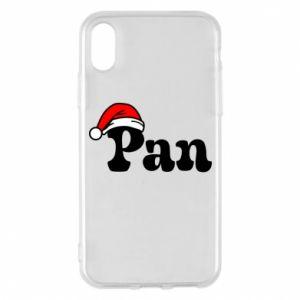 Etui na iPhone X/Xs Pan