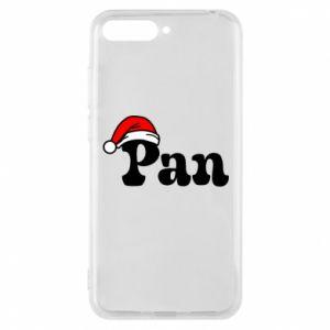 Etui na Huawei Y6 2018 Pan