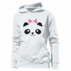 Women's hoodies Panda girl - PrintSalon