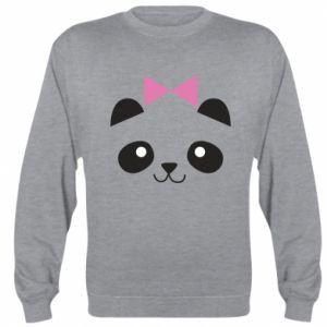 Sweatshirt Panda girl - PrintSalon