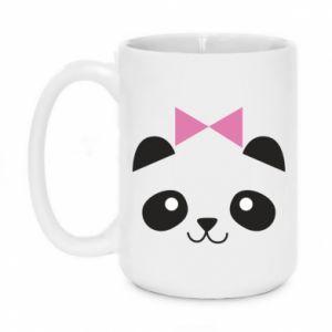 Mug 450ml Panda girl - PrintSalon
