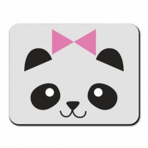 Mouse pad Panda girl - PrintSalon