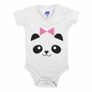 Baby bodysuit Panda girl - PrintSalon