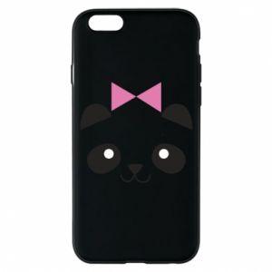 Phone case for iPhone 6/6S Panda girl - PrintSalon