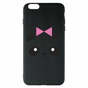 Phone case for iPhone 6 Plus/6S Plus Panda girl - PrintSalon