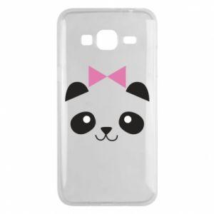 Phone case for Samsung J3 2016 Panda girl - PrintSalon