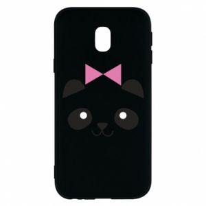 Phone case for Samsung J3 2017 Panda girl - PrintSalon