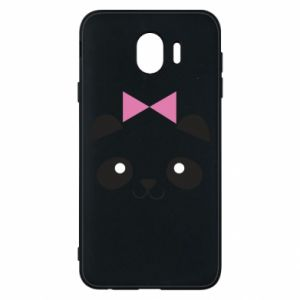 Phone case for Samsung J4 Panda girl - PrintSalon
