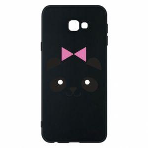 Phone case for Samsung J4 Plus 2018 Panda girl - PrintSalon