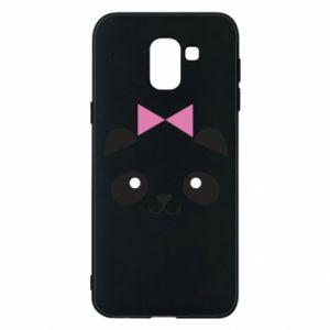 Phone case for Samsung J6 Panda girl - PrintSalon