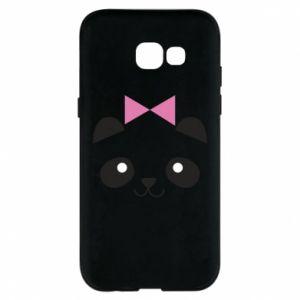 Phone case for Samsung A5 2017 Panda girl - PrintSalon
