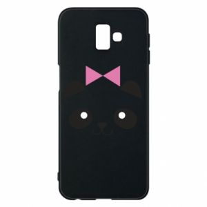 Phone case for Samsung J6 Plus 2018 Panda girl - PrintSalon