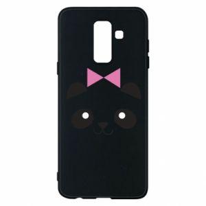 Phone case for Samsung A6+ 2018 Panda girl - PrintSalon