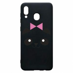 Phone case for Samsung A30 Panda girl - PrintSalon