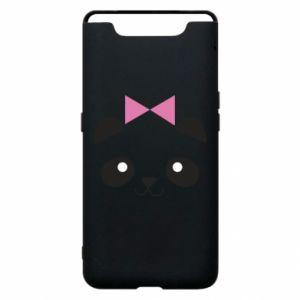 Phone case for Samsung A80 Panda girl - PrintSalon