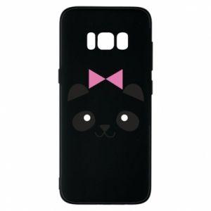 Phone case for Samsung S8 Panda girl - PrintSalon
