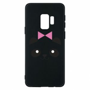 Phone case for Samsung S9 Panda girl - PrintSalon