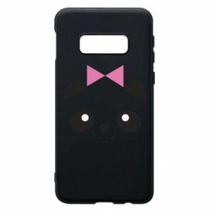 Phone case for Samsung S10e Panda girl - PrintSalon