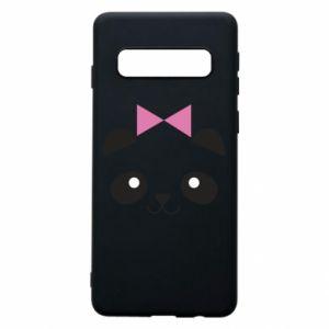 Phone case for Samsung S10 Panda girl - PrintSalon