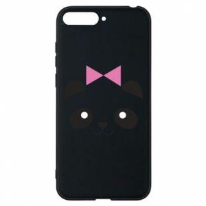 Phone case for Huawei Y6 2018 Panda girl - PrintSalon