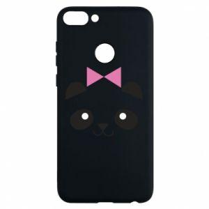 Phone case for Huawei P Smart Panda girl - PrintSalon