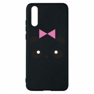 Phone case for Huawei P20 Panda girl - PrintSalon