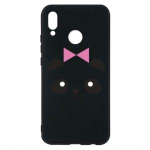 Phone case for Huawei P20 Lite Panda girl - PrintSalon