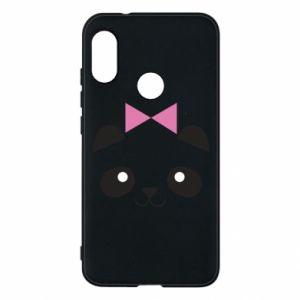 Phone case for Mi A2 Lite Panda girl - PrintSalon