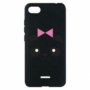 Phone case for Xiaomi Redmi 6A Panda girl - PrintSalon