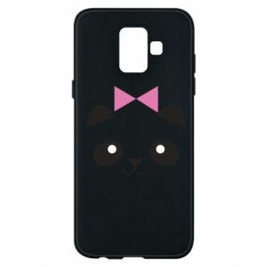 Phone case for Samsung A6 2018 Panda girl - PrintSalon