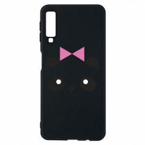 Phone case for Samsung A7 2018 Panda girl - PrintSalon