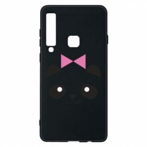 Phone case for Samsung A9 2018 Panda girl - PrintSalon