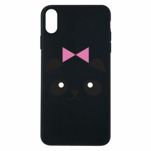 Etui na iPhone Xs Max Panda girl